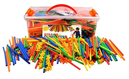 Playlearn LARGE 800 Piece Straws...