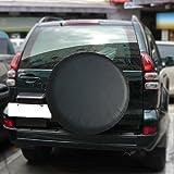Cubierta de rueda de repuesto, cuero sintético, cubierta de neumático de repuesto para 235/75R16 y 29 pulgadas /30 pulgadas /31 pulgadas