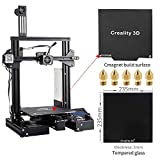 Creality Ender 3 Pro 3D Printer with Glass Plate, Upgrade Cmagnet Build Surface Plate and UL Certified Meanwell Power Supply Build Volume 220x220x250mm