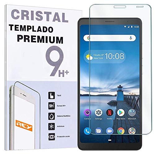 REY - Protector de Pantalla para Lenovo Tab V7, Cristal Vidrio Templado Premium, Táblet