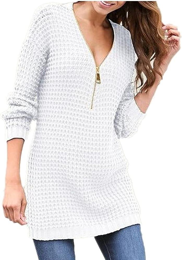 NP Autumn/Winter Sweater Women's Zipper Long Sleeve Knitwear Women's Sweater