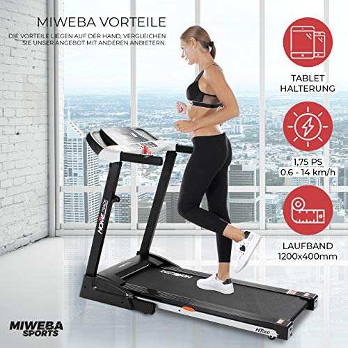 HT1500 Miweba Sports Sieger Laufband unter 500 Euro kaufen  Bild 1*