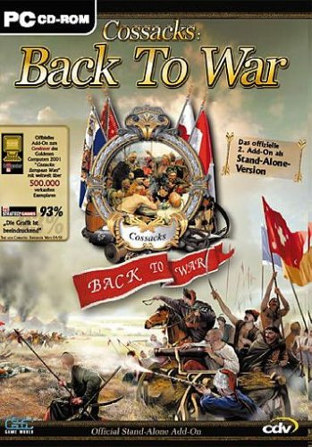 Cossacks: Back to War  [cdv bestseller]
