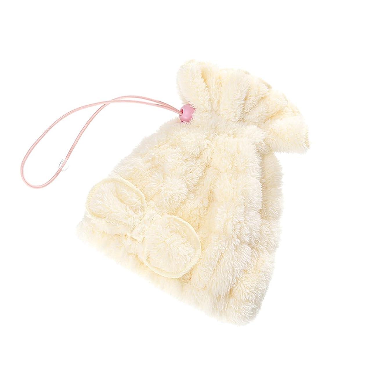 提供するストリーム略語シャワーキャップ より厚い子供の乾燥髪のキャップ速乾吸水乾燥髪タオル髪乾燥タオルピンクシャワーキャップ黄色シャワーキャップ (Color : 2#)