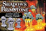 Flying Frog Productions FYF07E23 Shadows of Azufre - Magma Fiends Enemy Pack Juego de mesa
