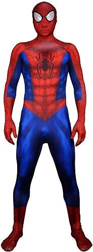 liquidación hasta el 70% RNGNBKLS RNGNBKLS RNGNBKLS Traje De Spiderman Cosplay Disfraces De Halloween para Hombre Carnaval Spiderman Disfraces De Carnaval De Halloween Impresión 3D Traje De Mono Spandex,Men-XXXL  Envio gratis en todas las ordenes