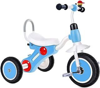 Tricycle Pour Enfants Vélos Pour Enfants 2-6 Ans  Les Jouets D'enfants  Marcheur D'enfants Cadeaux Pour Enfants (Color : Blue, Size : 74x50x57cm)