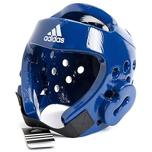 adidas Taekwondo Protector de Cabeza (Azul)–pequeñas–BU