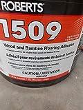 Roberts Wood and Bamboo Flooring Adhesive, 4 gal (R1509-4)