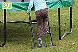 EXIT Leiter S (60 cm) / Trittleiter - Zubehör für Trampoline mit Einer Rahmenhöhe von 40 - 55 cm / Lieferung OHNE Trampolin