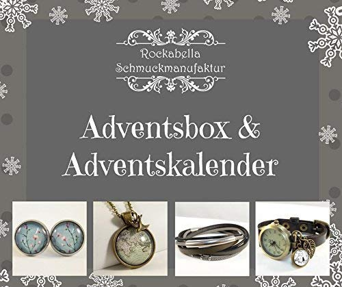 Adventsbox mit handgefertigtem Schmuck
