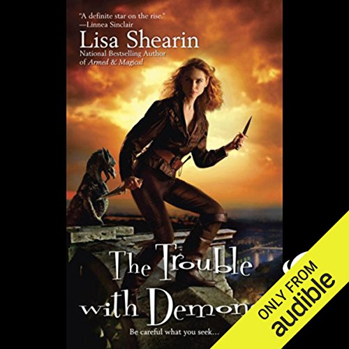 The Trouble with Demons audiobook cover art