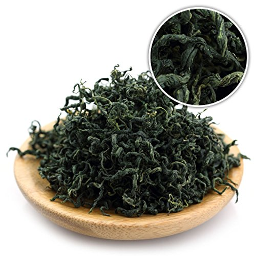 GOARTEA 1000g (35.2 Oz) Supreme Organic Seven Leaf Jiao Gu LAN Jiaogulan Herbal Flower Gynostemma Chinese Green Tea kruiden thee