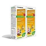 Arkopharma Arkovox Própolis Jarabe 280ML Pack x 2, Bienestar Respiratorio, Calma y Suaviza el Dolor de Garganta, Refuerza las Defensas, Con Extractos de Plantas y Equinácea