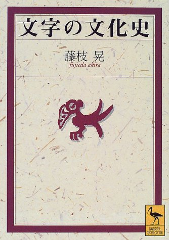文字の文化史 (講談社学術文庫)