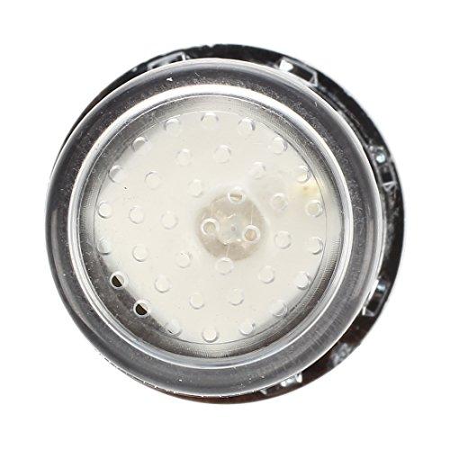 SODIAL(R) bunte LED Wasserhahn Leuchtender LED Licht Wasserhahn mit Temperatursensor Farben(Gruen/Rot/Blau),Wasser-Strom-Hahn 3 Farben durch Wasserdruck (bunten LED Wasserhahnfilter) - 4