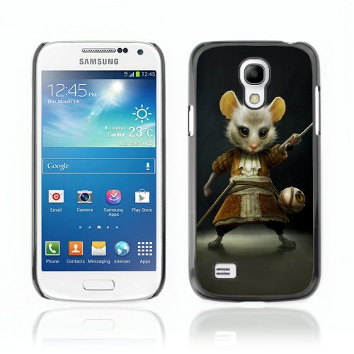 CelebrityCase Polycarbonate Hard Back Case Cover for Samsung Galaxy S4 MINI ( Mousketeer Mouse, Alice In Wonderland )
