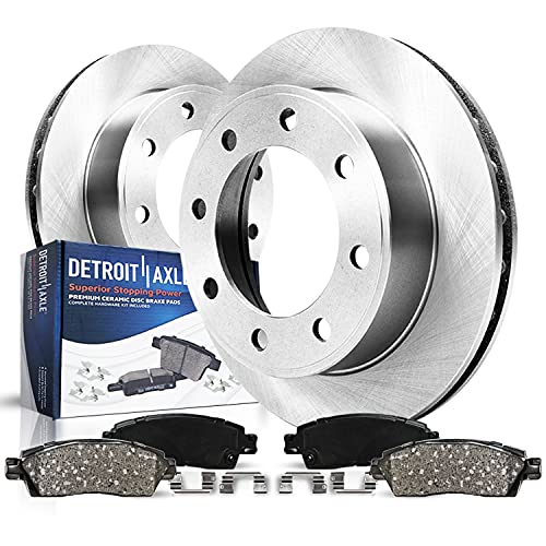 Detroit Axle - Rear Disc Rotors + Brake Pads...