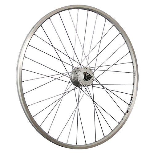 Taylor-Wheels 28 Zoll Vorderrad Hohlkammerfelge Ryde ZAC19 / Shimano Nabendynamo - Silber
