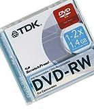 TDK DVD-RW 8cm - DVD+RW vírgenes (caja de joyas)