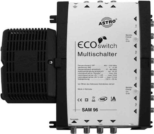 Astro SAM 96 Ecoswitch - Sat Multischalter (217 x 214 x 57 mm, 230V/50Hz)