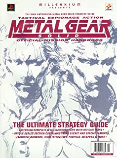 Metal Gear Solid: Official Mission Handbook (Authorized Official Strategy Guide)