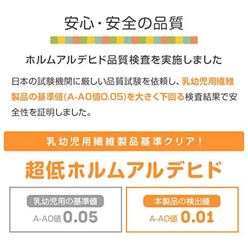 モダンデコ『ジョイントマット木目調58cm64枚セット』