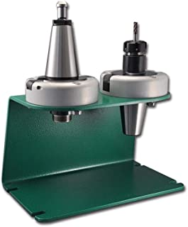 SFX Tool Holder Tightening Fixture for Universal CNC Equipment, Double Head Hard, Anodized (BT50)