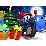 【クリスマス】テッドがクリスマスプレゼントを配るよ! & サーカス - トレインのテッドとサーカスの動物の名前を学ぼう