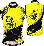 ZGHTD Chaleco de ciclismo para hombre, Softshell para correr, para hombre, chaleco reflectante para ciclismo, ciclismo, motocicleta, senderismo, sin mangas, Jac