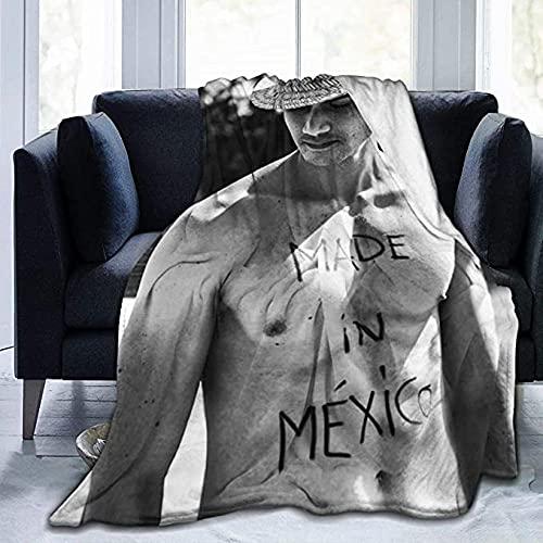 HUA JIE Al-Ej-An-Dr-O Sp-Ei-Tz-Er Throw Blanket Man Stylish Soft Flannel Quality Fabrics All Season Warm Cozy Plush Microfiber Hypoallergenic Blankets Für Bed Couch Chair Travel