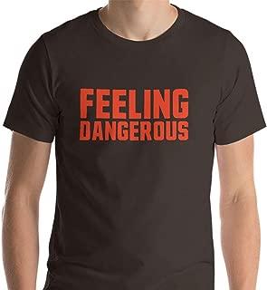 Feeling Dangerous Cleveland Football Baker Mayfield T-Shirt - Short-Sleeve Unisex T-Shirt