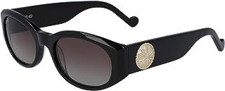 نظارة شمسية للنساء من ليو جو، مستطيل، ميدالية