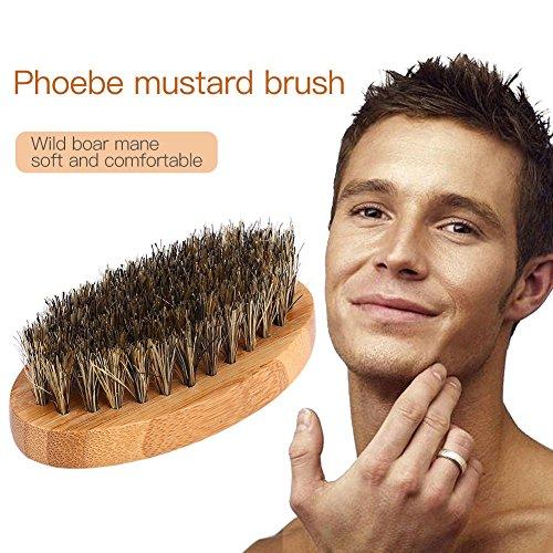 Msmask Barbe Brosse Moustache Hommes Soins Des Cheveux Toilettage Poils De Sanglier Peigne Santé Visage