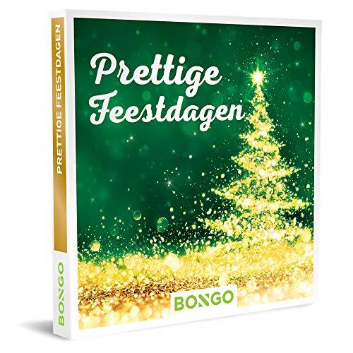 Bongo Bon - Prettige Feestdagen | Cadeaubonnen Cadeaukaart cadeau voor man of vrouw | 6138 activiteiten: logeren, dineren, relaxen of dagje uit