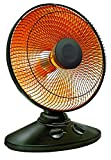 Durabold Dish Heater Parabolic Electric Heater with Quick, Concentrated Heat- 14' Oscillating/Tilt Dish Heater- 70° Oscillation- with Timer Safety Shut- Safe to Handle- for Home/Office Use