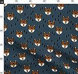 Fuchs, Wald, Junge, Kinderzimmer, Baby Stoffe - Individuell