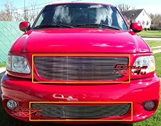 APS Compatible with 1999-2003 Ford F-150 Lightning Billet Grille Combo S18-A39778F
