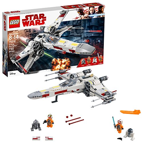 X-Wing Starfighter Luke Skywalker LEGO Star Wars 75218 - 730 Pièces - 0