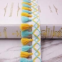 10Yards Rainbow Tassel Lace Ribbon Fringe Drop Lace Trims-Lace Trim for Sewing-Fringe Trim for Sewing-Fringe Trim for Craft-Lace Trim for Craft-Fringe Trim for Clothing-DIY Sewing Accessory