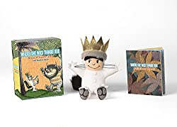 Image: Where the Wild Things Are: Max Plush Toy and Sticker Book (RP Minis) | Paperback: 16 pages | by Running Press (Author).Publisher: RP Minis; Box Stk to edition (May 2, 2017)
