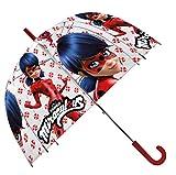 Kids ladybug paraguas clásico, 70 cm, rojo