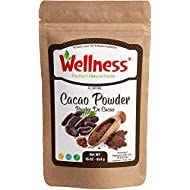 Dutch Process Cocoa Powder Cacao Powder (Unsweetened Cocoa - Dark Chocolate Powder) / 1 POUND 454 g , Made from the BEST tasting PREMIUM Cacao Beans - KETO and PALEO Friendly Cacao Powder Dutch-processed cocoa powder -Dutch-process Cocoa Powder- 1 lb - 454 gr -Bakery New Brand