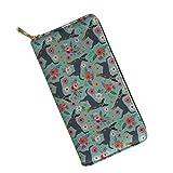 UFDIS , Damen Damen-Geldbörse Mehrfarbig Miniature Pinscher (P2088) Einheitsgröße