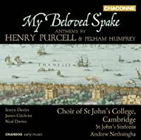 My Beloved Spake by JOHANN FRIEDRICH FASCH (2012-11-13)