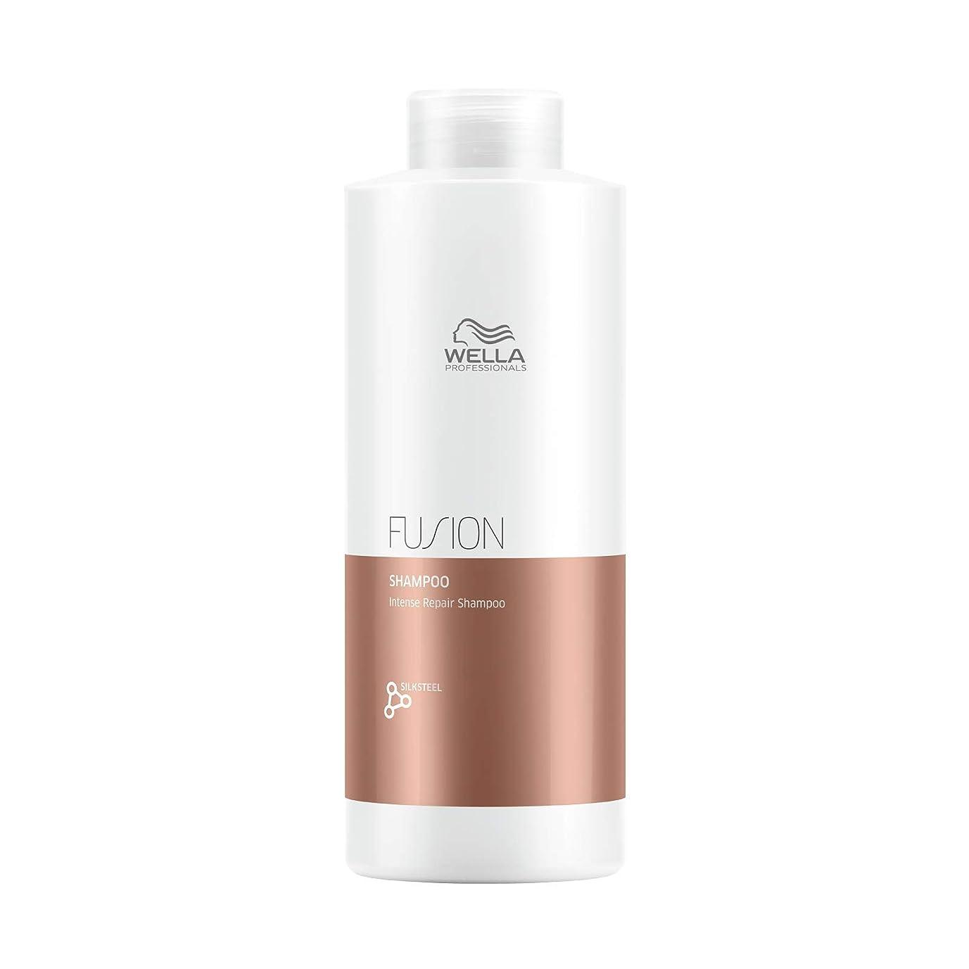 表現サンダル優先Wella FUSION PLEX Intense Repair Shampoo (with Sleek Steel Pin Tail Comb) (33.8 oz / 1000 ml - Liter) 141[並行輸入]
