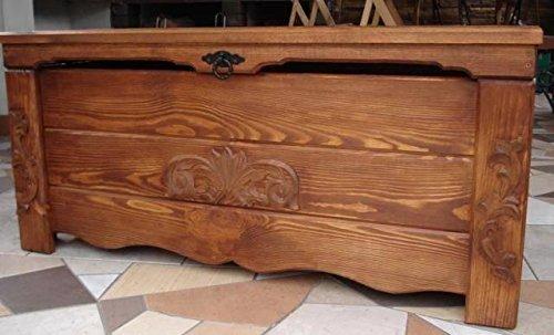 Massive Handgemachte Holzkiste Truhe Box Holz Aufbewahrung Antik Dekoration Wohnen Möbel Sitzbank Schuhschrank Kaffee Tisch MG1