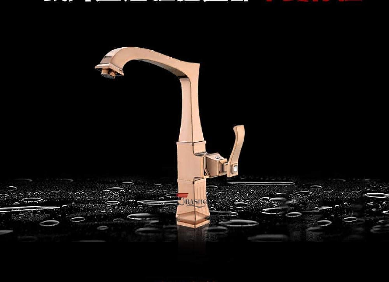 Braun gebürstet ORB poliert schwarz Messing Küchenarmaturen Waschbecken Wasserhahn 360-Grad-Drehung Küchenmischbatterie Waschbecken Wasserhahn