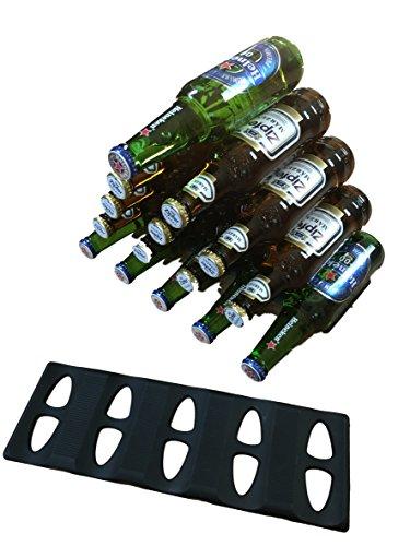 Dosen-Turm Flaschen stapeln – Stapel Matte / Stapel Hilfe – Aufbewahren & Ordnen im Kühlschrank, Bar, Küche – auf Party – Küchenhelfer Limonade Alkohol Bier – Partyzubehör 1 oder 2 Stück (2)