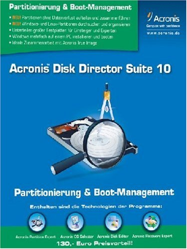 Acronis Disk Director Suite 10